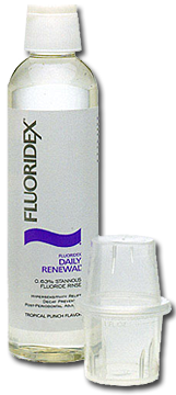 FLUORIDEX DAILY RENEWAL 0.63% STANNOUS FLUORIDE (SnF) RINSE