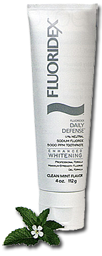 Fluoridex Daily Defense Enhanced Whitening Toothpaste