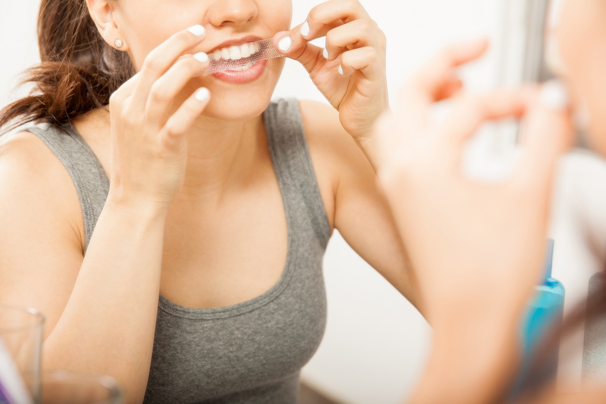 Over-the-Counter Teeth Whitening